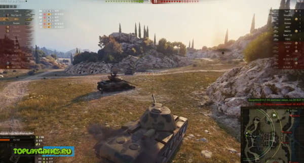 World of Tanks на ПК