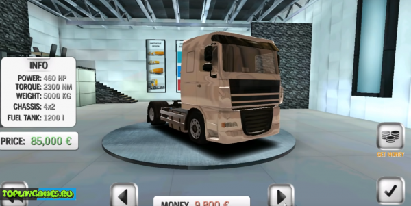 Euro Truck Driver на русском языке